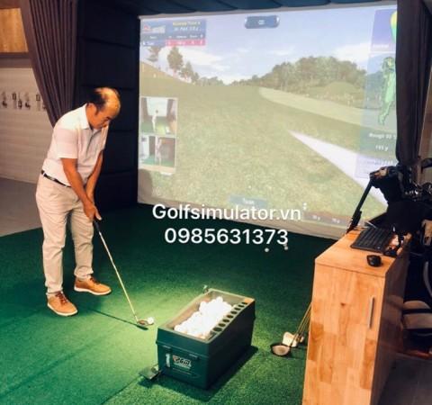 Phòng golf indoor 3D  tại Đà Lạt