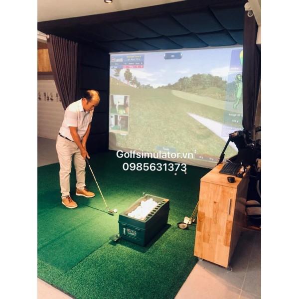 Phòng golf indoor 3D  tại Đà Lạt,Cảm biến Eagle Eye -KOREA
