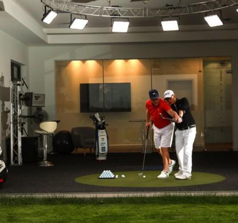Golfsimulator Hoàn thiện phòng kỹ thuật thứ 2 phục vụ công tác đào tạo tại học viện Golf EPGA