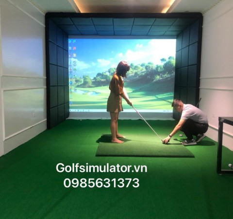 Phòng Golf TRACKMAN4 - Minh Khai - Hà Nội