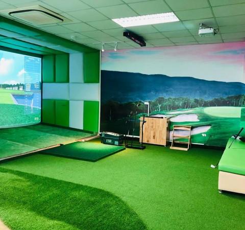 Phòng tập golf 3D- Eagle eye- 163 Lê Văn Lương- Hà Nội