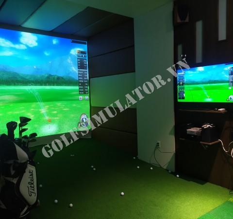 Phòng tập golf 3D- BRAVO GOLF- BV21- TP Sơn La
