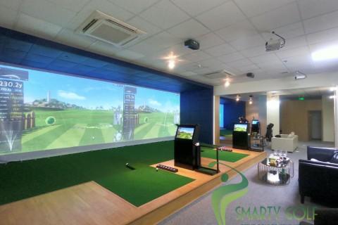 Phòng golf 3D-IMPACT VISION- CAFFE GOLF 3D - Khu Ngoại Giao Đoàn- HN