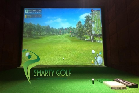 Phòng golf 3D-IMPACT VISION- TP BẮC NINH