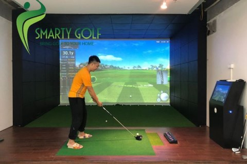Phòng golf 3D-IMPACT VISION (Golf Plus) - TP THAI BINH