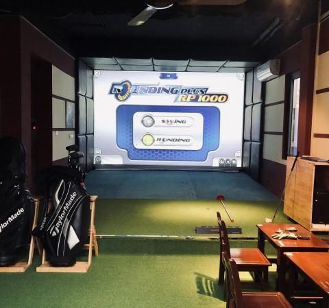 Phòng tập golf 3D- Eagle eye- OCHAN CAFE- HÀ NỘI
