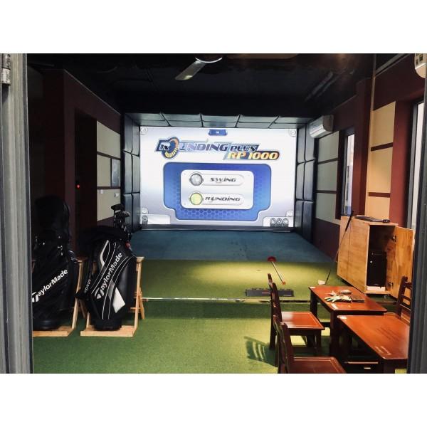 DỊCH VỤ CAFE GOLF 3D, cho thuê phòng golf 3d, golf simulator, mini golf