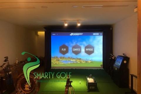 Phòng golf 3D-GCquad- VH Greenbay- HÀ NỘI