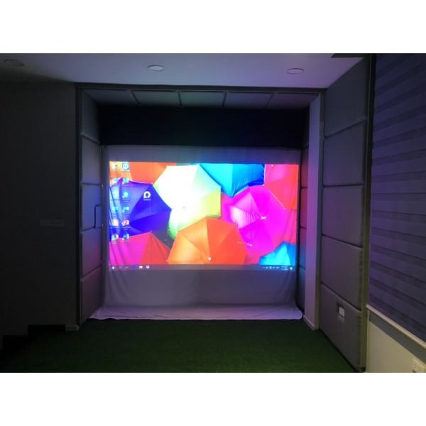 Phòng tập golf 3D-TIME CITY THĂNG LONG, Cảm biến Optishot2, Phần mềm Optishot 15 sân miễn phí, chế độ chơi online